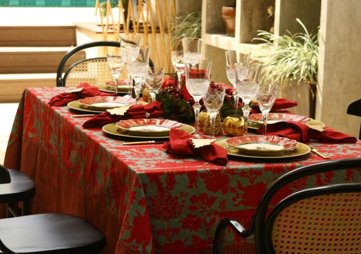 Como arrumar a mesa de Natal