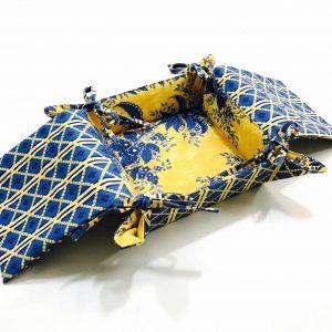 Pannier Bouquet Amarelo com Abas Médio
