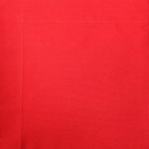 Guardanapo Tricoline Vermelho 45 X 45