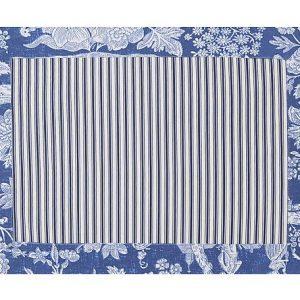 Jogo Americano Normandie Camponesa Azul