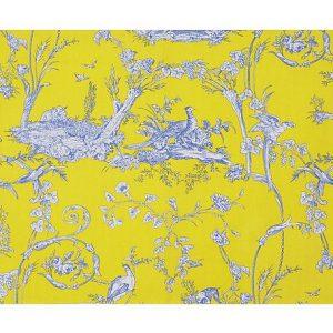 Toalha De Mesa Redonda Chasse Amarelo 1,50 m