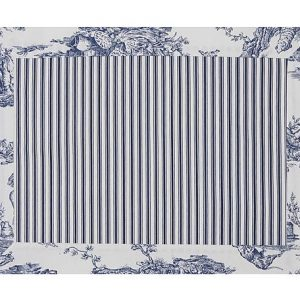 Jogo Americano Normandie Toile Azul