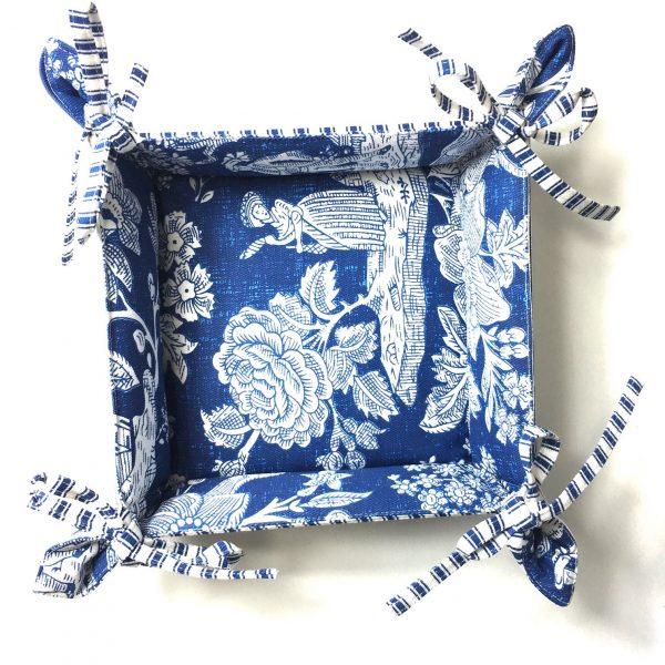 Pannier Camponesa Azul Médio