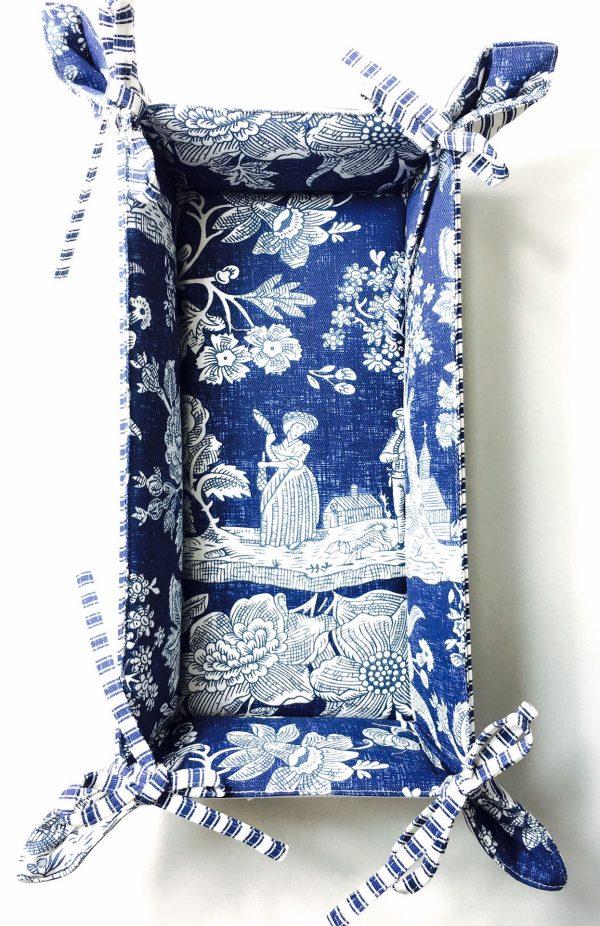 Pannier Camponesa Azul Grande