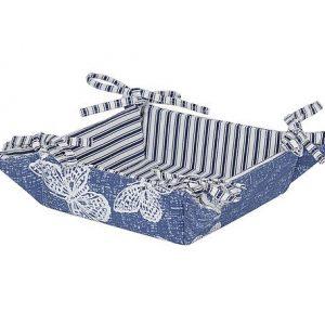 Pannier Borboleta Azul Médio