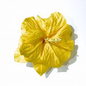 Porta Guardanapo Hibisco Amarelo