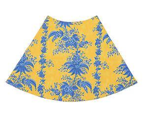 Jogo Americano Saia Bouquet Amarelo
