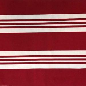 Jogo Americano Normandie Listra Larga Vermelha