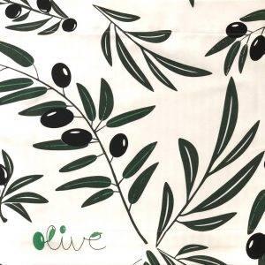 Jogo Americano Normandie Olive