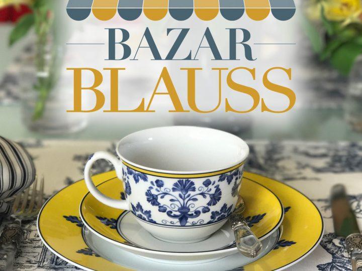 Bazar Blauss Maison 2017. Começa amanhã, na avenida dos Bandeirantes, 2722.