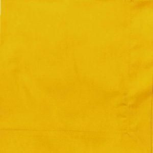Guardanapo Tricoline Amarelo 50 X 50